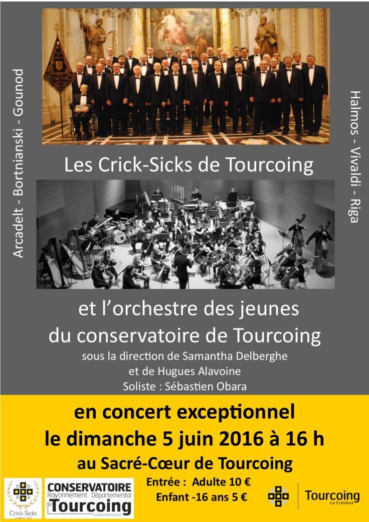 16-06-05 Affiche Concert Sacré-Coeur Tourcoing - 4